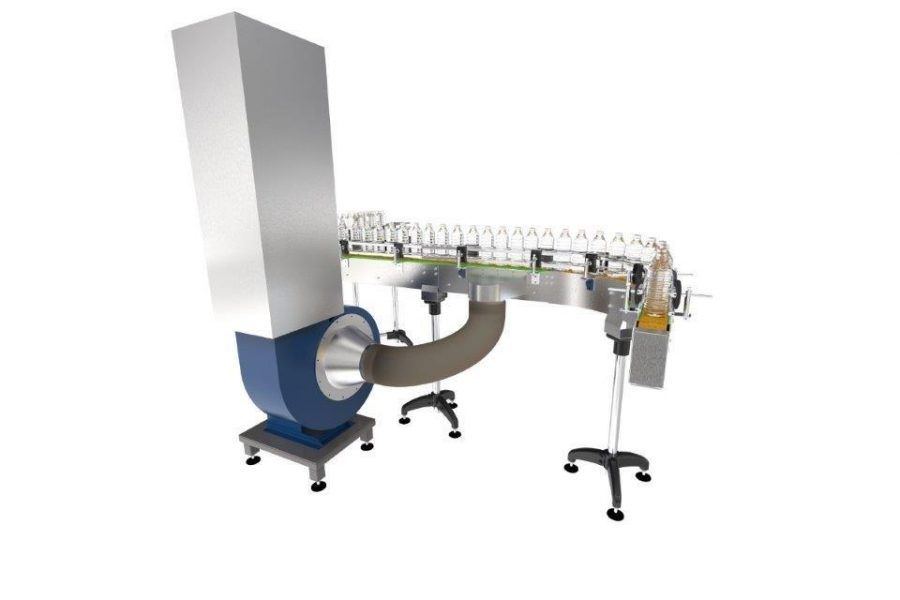 Vacuum plate conveyor