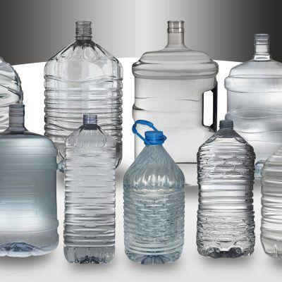 Duże butelki PET 3L-20L