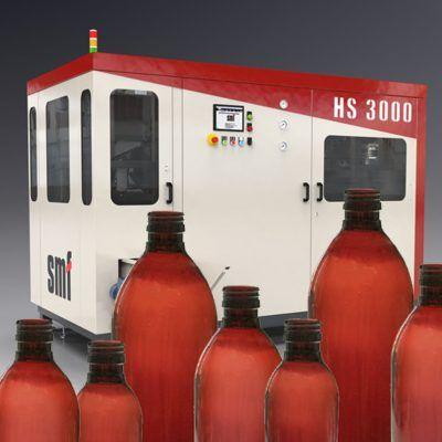 Máquina sopradora PET para garrafas farmacêuticas
