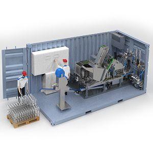 Fábrica em container