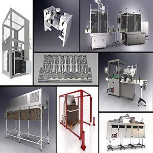 Máquinas para linha de envase