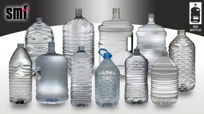 Big PET bottles 3L-20L