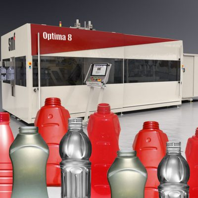 HOT-FILL machine for PET bottles