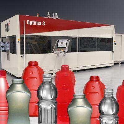 HOT-FILL machine for PET bottles